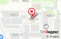 Схема проезда до компании Индустрия Лаков и Красок  в Москве