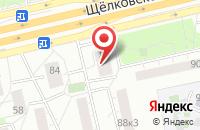 Схема проезда до компании Золотой Путь в Москве