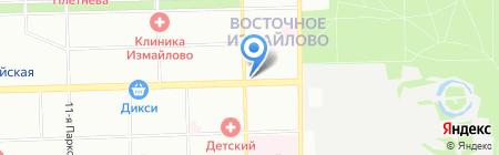 Ивановский трикотаж на карте Москвы