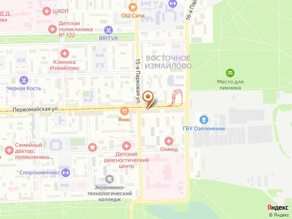 Остановка 15-я Парковая ул. в Москве