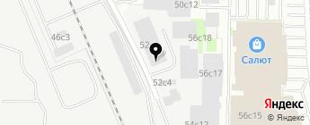 BusService на карте Москвы