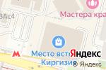 Схема проезда до компании Balkon-lounge в Москве