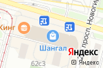 Схема проезда до компании Виктория в Москве