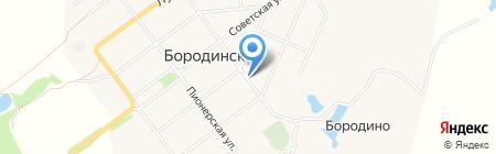 Парикмахерская на карте Бородинского