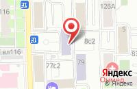 Схема проезда до компании Стройреконструкция в Москве