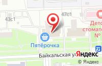 Схема проезда до компании Строительный Мир в Москве