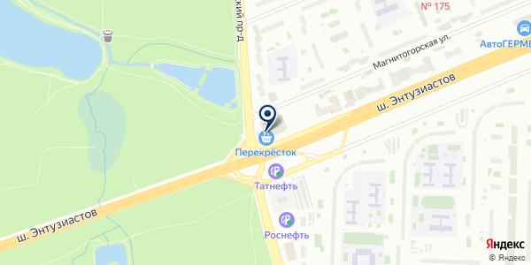 Совкомбанк, ПАО на карте Москве