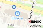 Схема проезда до компании Santa Monica в Москве