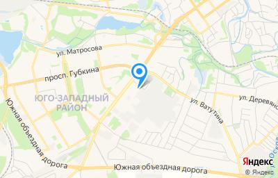 Местоположение на карте пункта техосмотра по адресу Белгородская обл, г Старый Оскол, пр-кт Комсомольский, д 73