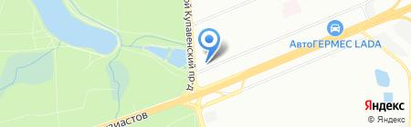 ХимСинтез на карте Москвы
