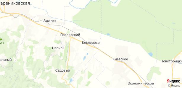 Кеслерово на карте