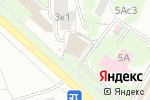 Схема проезда до компании Солнечный квадрат в Москве