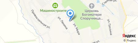 Газпром межрегионгаз Тула на карте Болохово
