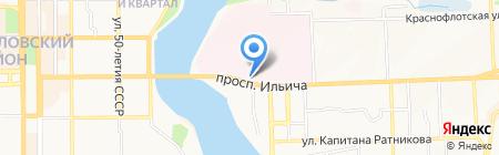 Добрый доктор на карте Донецка
