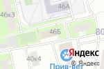 Схема проезда до компании Юнитест в Москве