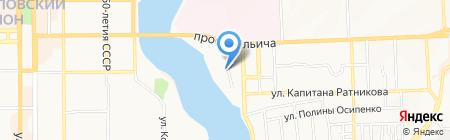Банкомат Европромбанк на карте Донецка