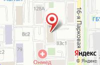 Схема проезда до компании Поставка и Комплектация Оборудования в Москве