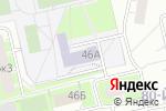 Схема проезда до компании Гимназия №1748 в Москве