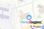 Схема проезда до компании АТЛЕТиК в Москве