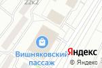 Схема проезда до компании Жанель в Москве