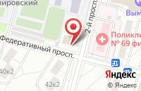 Схема проезда до компании Маунтин Компани в Москве