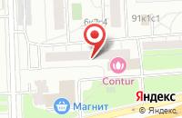 Схема проезда до компании Арнок в Москве