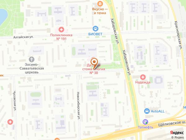 Остановка «Детская стоматологическая п-ка № 38», Байкальская улица (4203) (Москва)