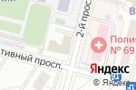 Схема проезда до компании СТРОЙЭКСПЕРТИЗА в Москве