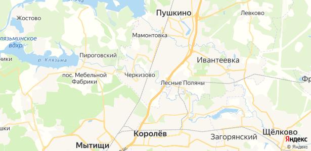 Тарасовка на карте