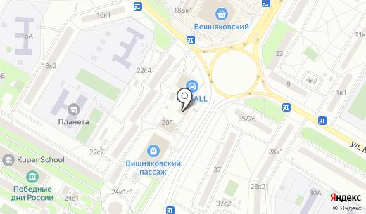 Банк ВТБ 24. Схема проезда в Москве