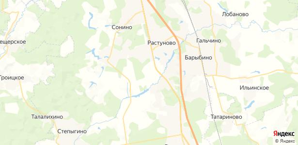 Уварово на карте