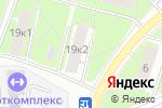 Схема проезда до компании Аренда штукатурных станций в Москве