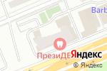 Схема проезда до компании Главстрой-Эксплуатация в Москве