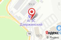 Схема проезда до компании ЖД-ХимТранс в Дзержинском