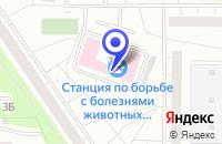 Схема проезда до компании СТАНЦИЯ ВОСТОЧНОГО АО в Москве