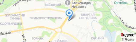 Банкомат Промсвязьбанк на карте Старого Оскола