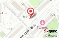 Схема проезда до компании Пром-Линия в Москве