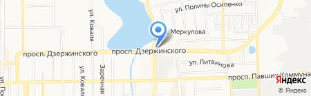 ПКС на карте Донецка