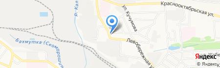 Гранит плюс на карте Донецка