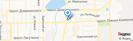 777 на карте Донецка