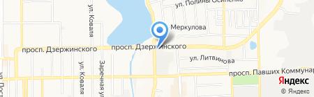 Все от 5 на карте Донецка