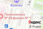 Схема проезда до компании Праймком в Москве