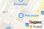 Схема проезда до компании Сеть ателье в Москве