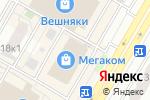 Схема проезда до компании oodji в Москве
