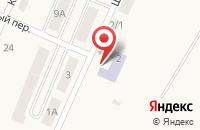 Схема проезда до компании Детский сад №3 в Бородинском