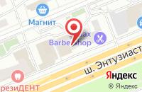 Схема проезда до компании Оринком в Москве