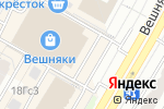 Схема проезда до компании Век Живи в Москве