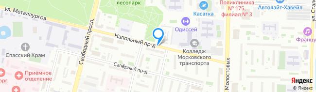 Напольный проезд