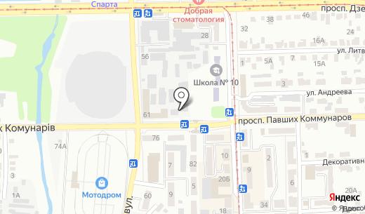 Кедрон. Схема проезда в Донецке