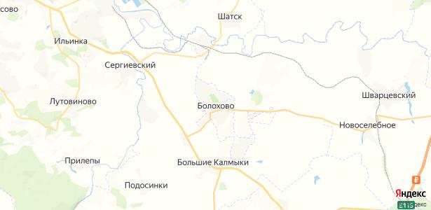 Болохово на карте